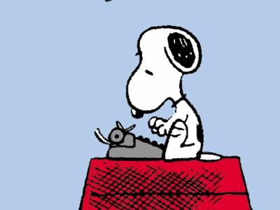 Dilbert, Peanuts und Co.: Schreiber Snoopy