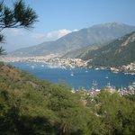 Fethiye Bay over looking Karagozlar