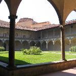 Claustro de la Iglesia de Santa Croce
