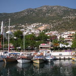 Kalkan from the water!