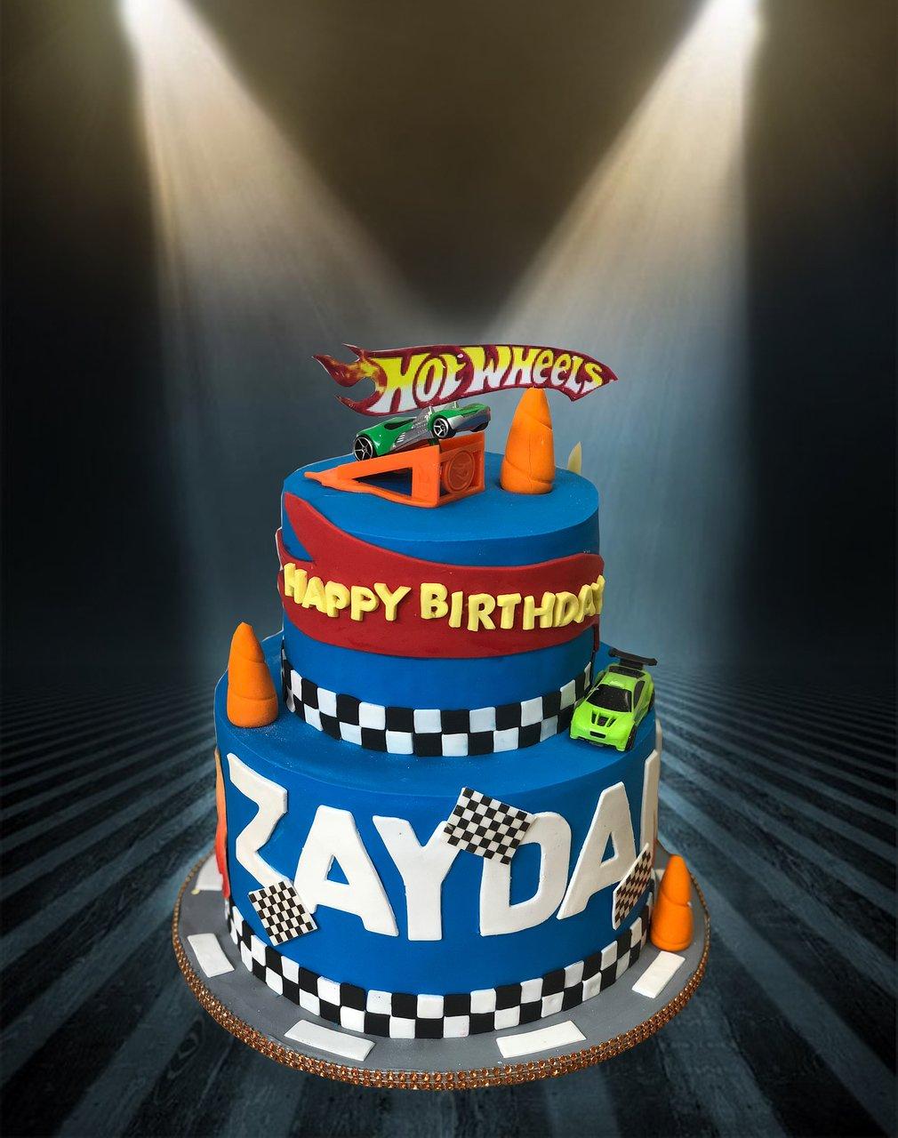 Hot Wheels Birthday Cake Picture Of Bakery Treatz Trinidad Tripadvisor