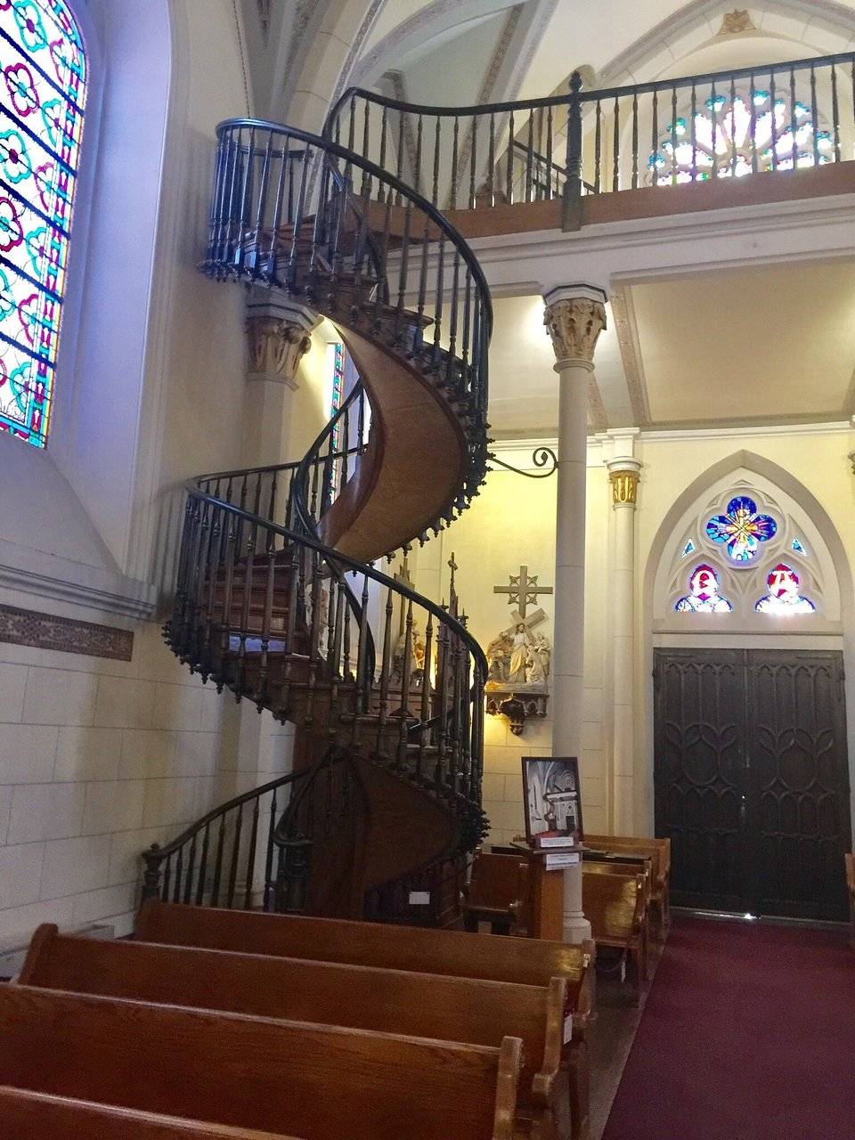 Loretto Chapel Santa Fe Tripadvisor | Spiral Staircase Loretto Chapel | St Joseph | Immaculate | Kentucky Sisters | Explained | Stairway