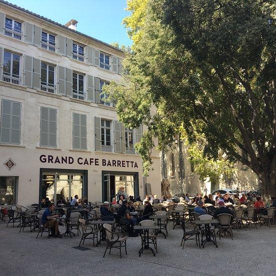 grand cafe barretta avignon menu