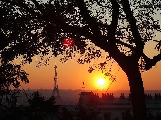 Coucher de soleil sur Paris de TDMB sur TripAdvisor.fr