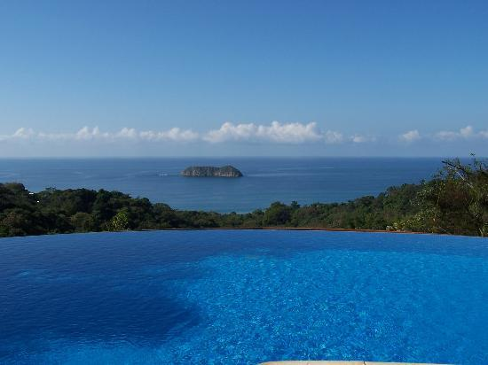 Costa Rica: View from the pool.
