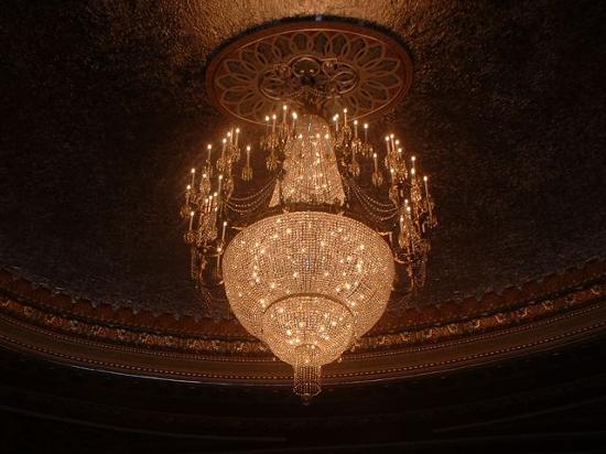 Genesee Theatre Chandelier