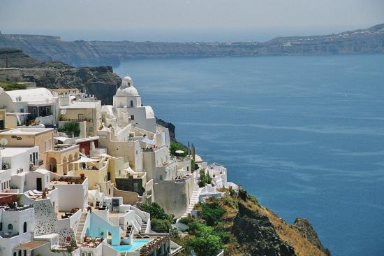 Fira - Santorini. Lots of steps! (16866075)
