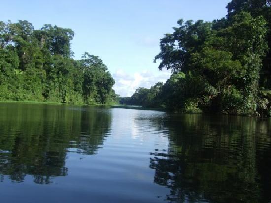Cruising the rivers in Costa Rica
