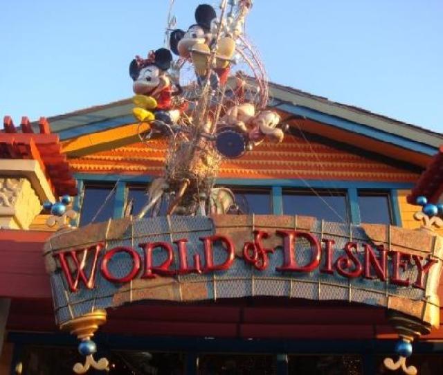 Orlando Fl World Of Disney Store Dtd