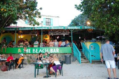 Beach Bar - Where we spent the 4th of July waiting for the ...