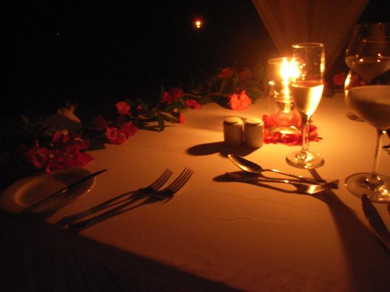 Perfect anniversary date idea Candlelight Dinner