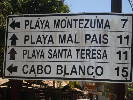 Costa Rica: Ruta de viaje.