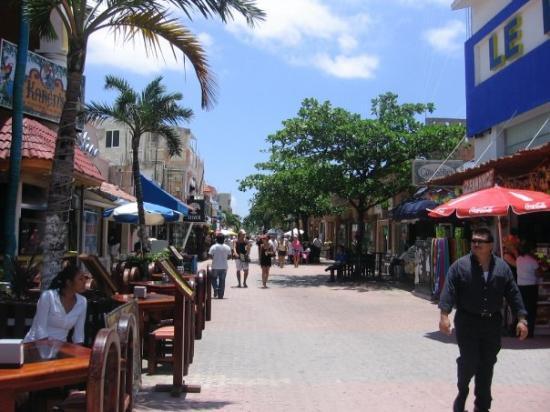 5th Street Picture Of Playa Del Carmen Riviera Maya