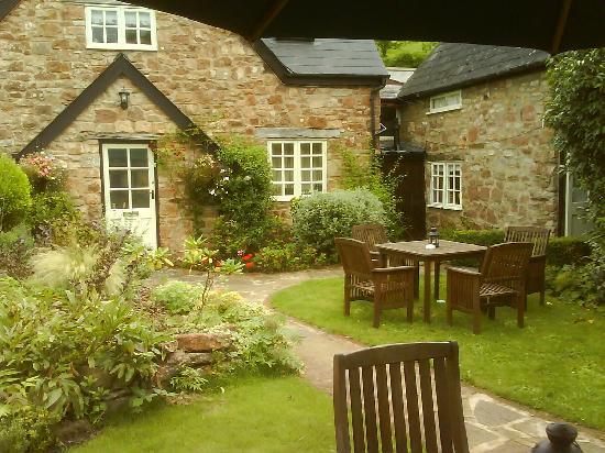 Serene Garden Picture Of Tudor Farmhouse Hotel