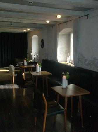 Bar inside Noma, Copenhagen.