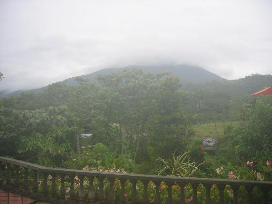 Costa Rica: Arenal View from the hotel lounge