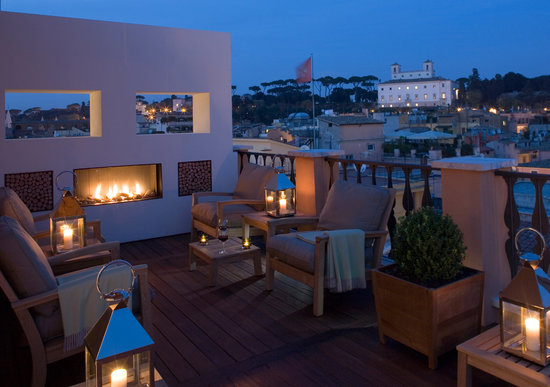 best luxury hotel rome