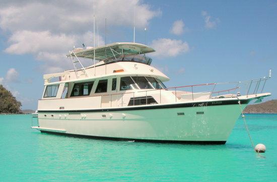Elixir Is A 60 Foot Hatteras Motoryacht Picture Of