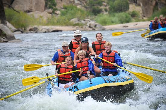 River Rafting at Deer Valley Ranch Colorado
