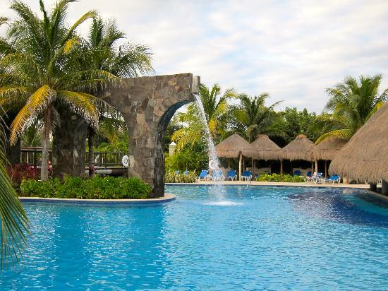 Pool Waterfall Picture Of Valentin Imperial Riviera Maya
