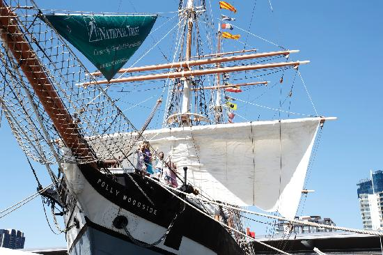 Photos of Polly Woodside - Melbourne's Tall Ship Story, Melbourne