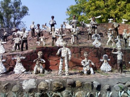 Image result for garden of chandigarh