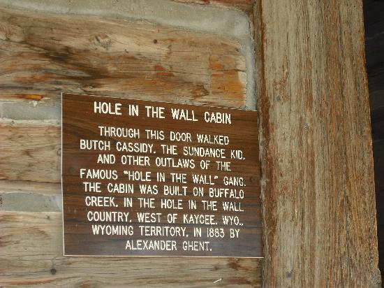 Hole Wall Lost Cabin