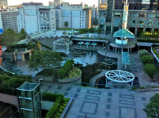 View Of California Plaza From Omni Hotel
