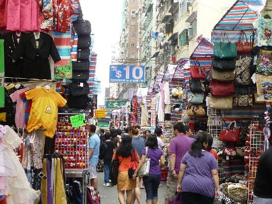 Photos of Ladies Market, Hong Kong