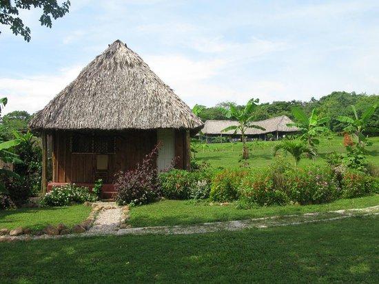 a cabana in Nicaragua.