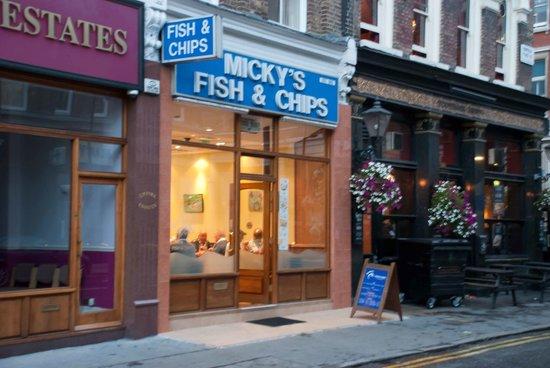 Fish Restaurant London Bridge