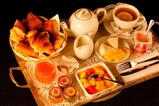 hotel therese plateau petit dejeuner