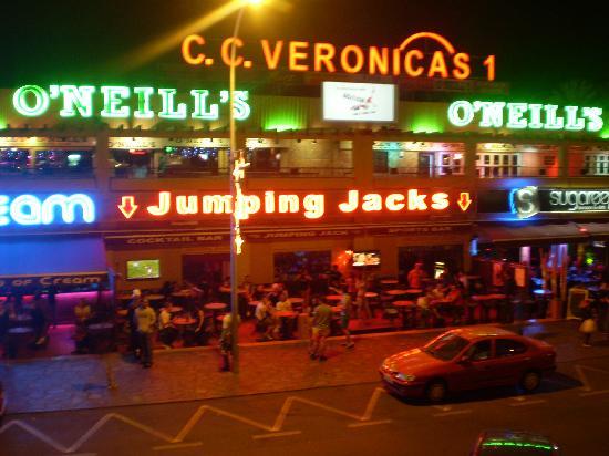 Veronicas Strip Picture Of Apartamentos Caribe Playa
