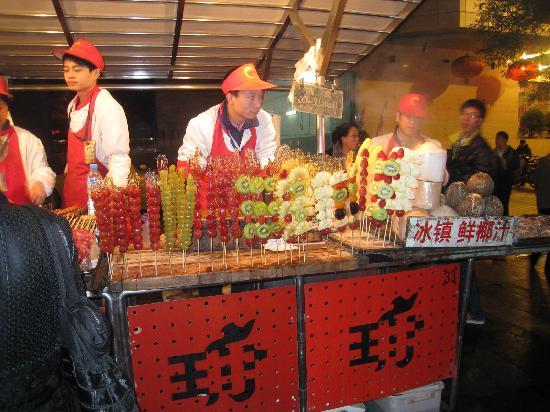 Pictures of Dong Hua Men Night Market, Beijing