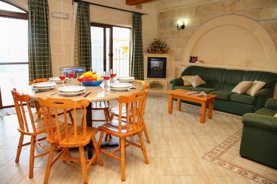 Dining Room Picture Of Pergola Farmhouses Xaghra