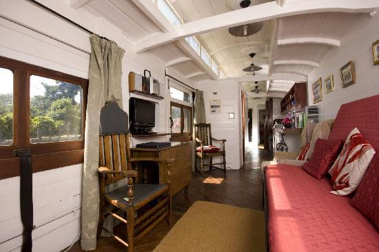 Railholiday - The Old Luggage Van and The Travelling Post Office: Interior of the Travelling Post Office