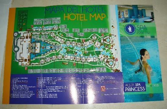 Mayan Riviera Map Grand Resort Maya Resort