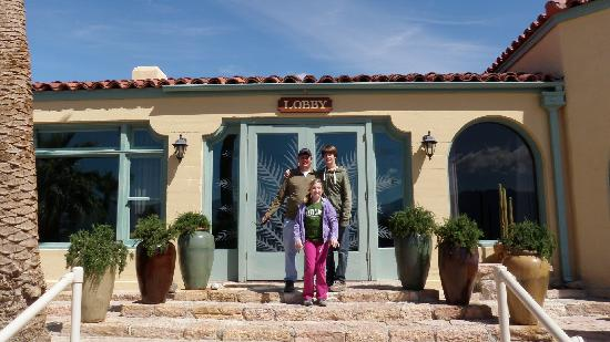 In Front Of Furnace Creek Inn Picture Of The Inn At