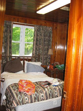 Interior Cabin Bedroom 1   Picture of Chickasaw State Park     Chickasaw State Park  Interior Cabin Bedroom 1