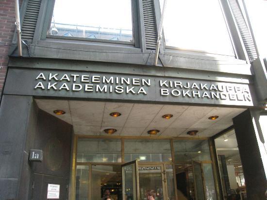 akateeminen kirjakauppa, bookstore, Helsinki