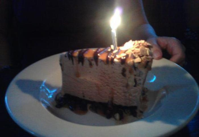 Birthday Cake I Think Ice Cream Mocha Flavour Picture Of The Keg