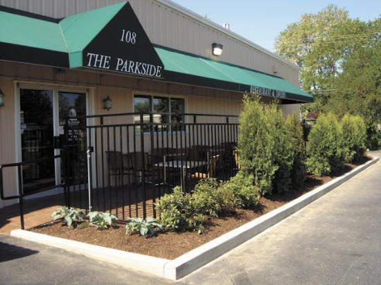 Parkside Restaurant Lunch Menu