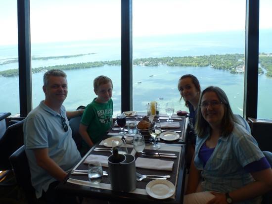 Enjoying The 360 Restaurant At Toronto S Iconic Cn Tower Picture Of 360 The Restaurant At The Cn Tower Toronto Tripadvisor