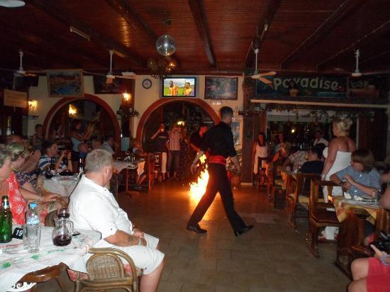Garnavos Paradise Apartments Greek Dancer