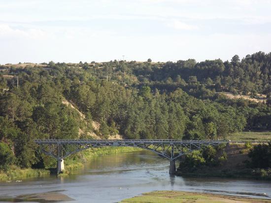 Bryan Bridge 4 Miles South Of Valentine NE Foto Di