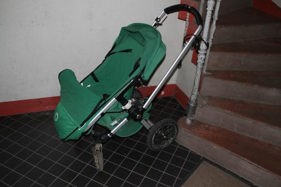 Stroller Visible Immediately Upon Entering Premises