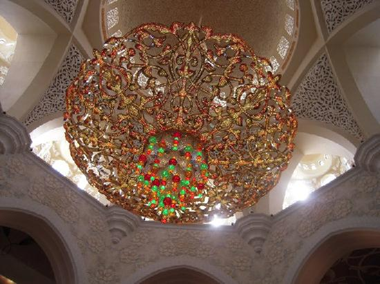 Sheikh Zayed Mosque Most Expensive Chandelier In The World