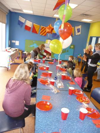 Birthday Party Room Picture Of Great Lakes Children S Museum Traverse City Tripadvisor
