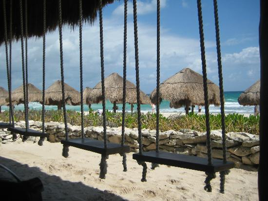 Swing Bar Beach Picture Of Valentin Imperial Maya