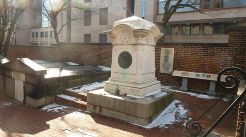 Photos of Edgar Allan Poe's Grave Site and Memorial, Baltimore